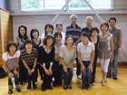 3日目グループ別ダンス発表会にて